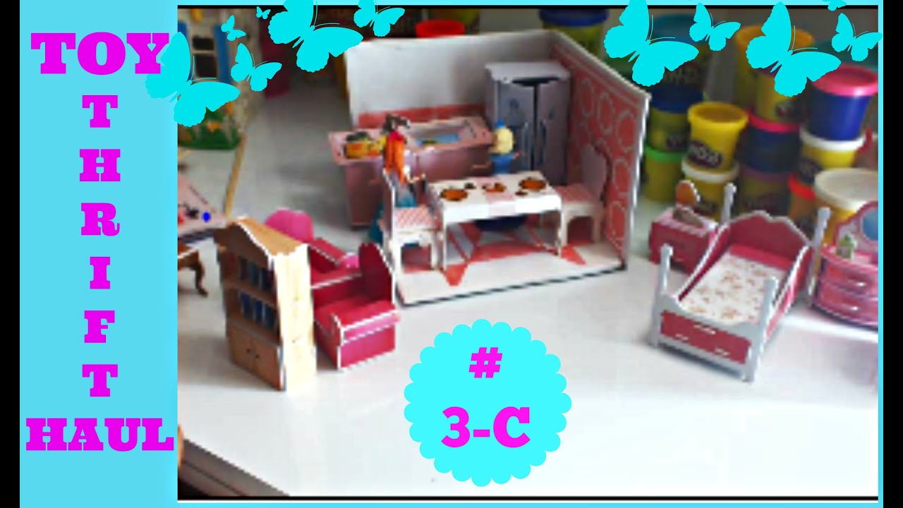 Dollhouse Kitchen Furniture Dollhouse Mini Dollhouse Kitchen Furniture Youtube