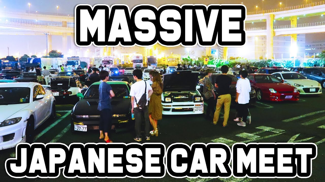 THE BIGGEST CAR MEET! - Daikoku PA Japan