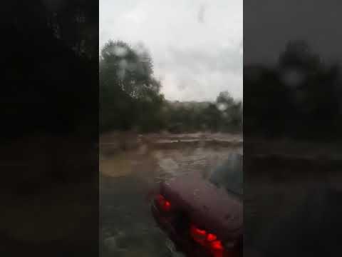 5 сентября 2019 вода все ближе к дороги циклон и наводнение атакует г.Комсомольск на амуре