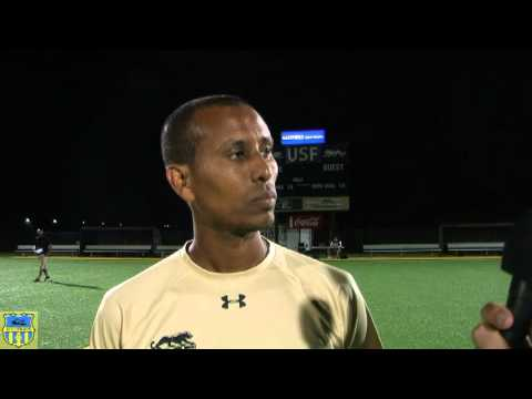SD College Soccer Coach Mekonnen Afa of University of Sioux Falls Women