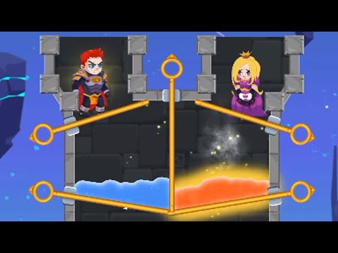 Hero Rescue - All Levels 70-100 Gameplay Android, IOS