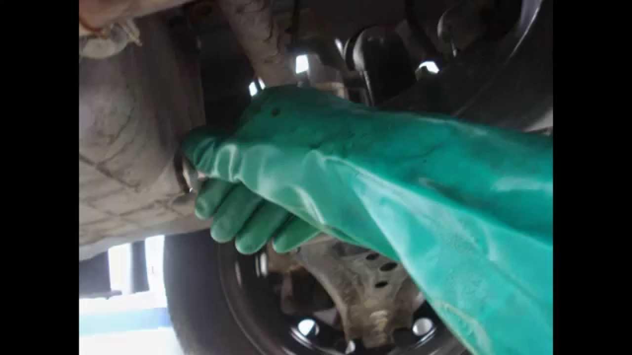 Cambio de aceite y filtro motor Chevrolet Sail. - YouTube