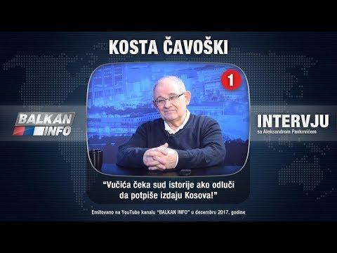 INTERVJU: Kosta Čavoški - Vučića čeka sud istorije ako odluči da potpiše izdaju Kosova! (10.12.2017)