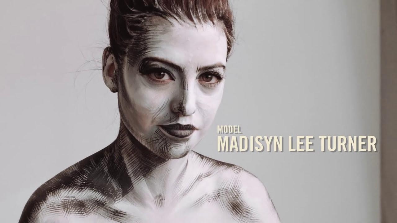 Life Drawing Drawing Or Bodyart Art By Lana Chromium Bodypaint Drawing Bodyart Illusion Bobby Vu Youtube