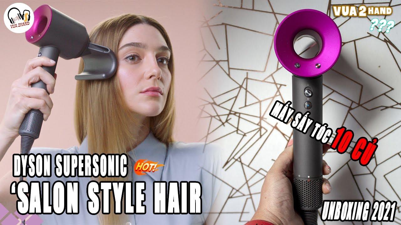 [UNBOXING] Dyson Hair Dryer l Máy sấy tóc 10 củ giống Sơn Tùng MPT