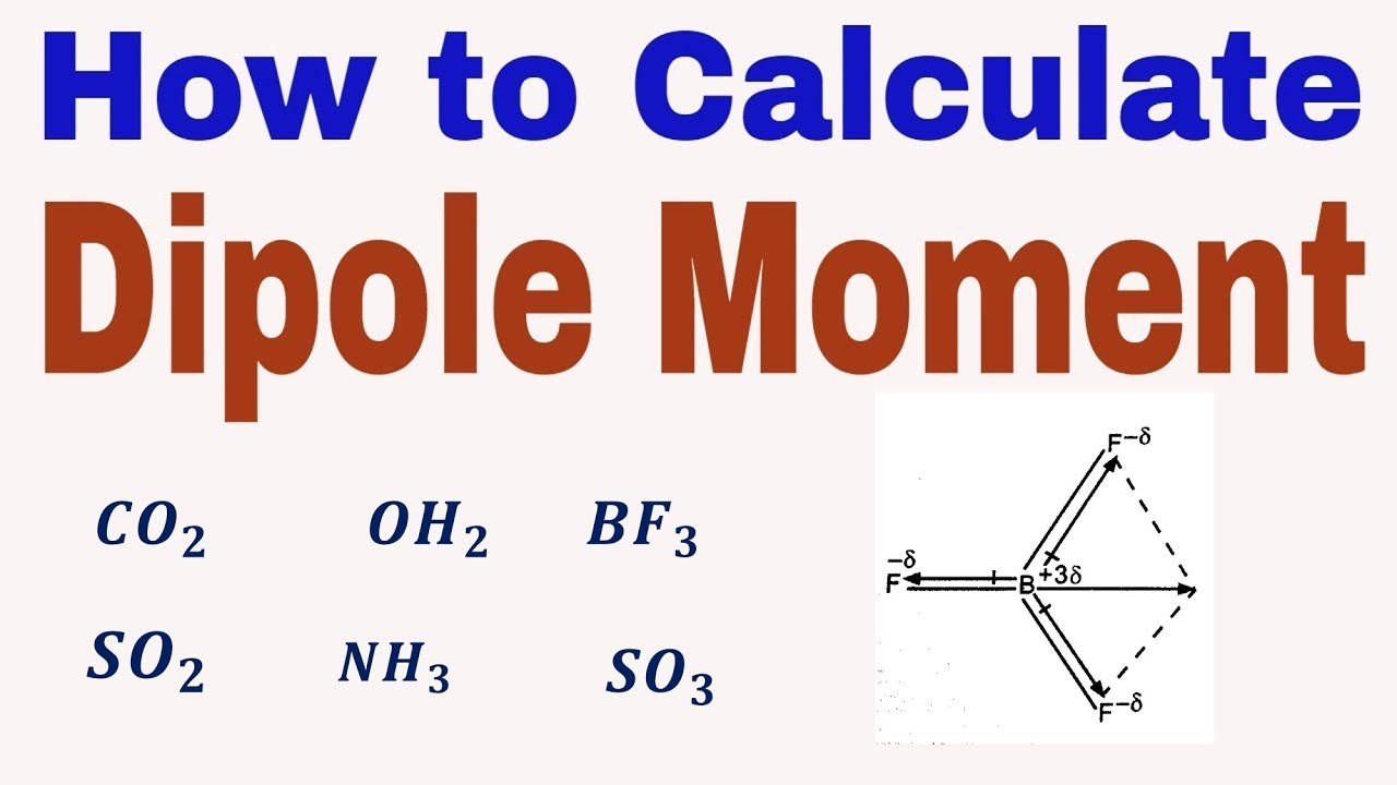 Dipole Moment How To Find Molecule Is Polar Or Non Polar Chemical Bonding Class 11th Youtube