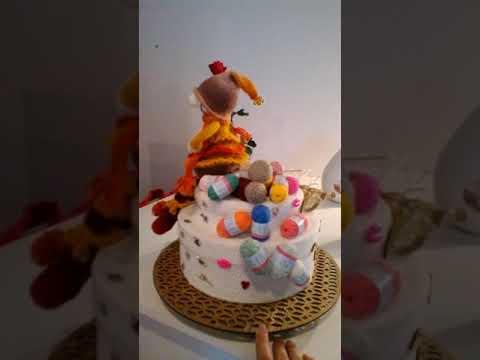Mon Gâteau Danniversaire Pour Mes 60 Ans Youtube