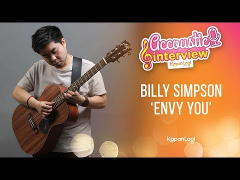 Billy Simpson - Envy You (Acoustic Interview Part 2)