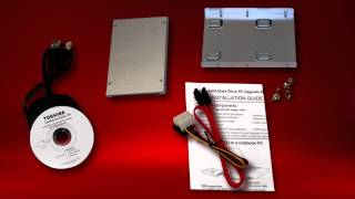 Toshiba How-To: Install Solid-State Drive PC Upgrade Kit