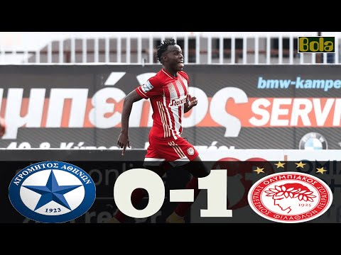 Atromitos Olympiakos Goals And Highlights