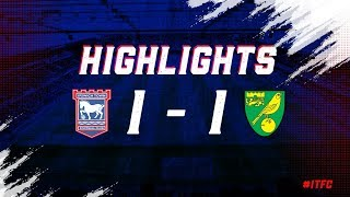 HIGHLIGHTS | Town 1 Norwich 1