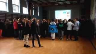 Sorø Privatskole - Fællessamling mellemtrin 2014 (Tranedans)