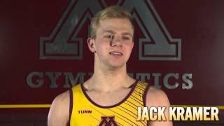 Gopher Men's Gymnastics Speed Dating: Video #2