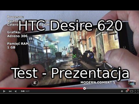 HTC Desire 620 Test - Prezentacja