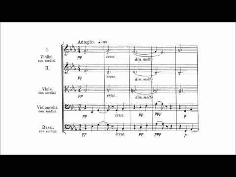 Edward Elgar - Elegy for string orchestra Op. 58 (audio + sheet music)