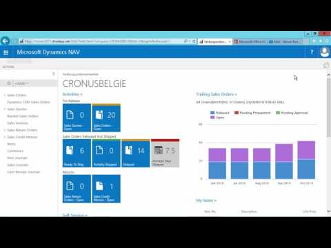 How Do I: Configure the Outlook Add in for Microsoft Dynamics NAV 2017?