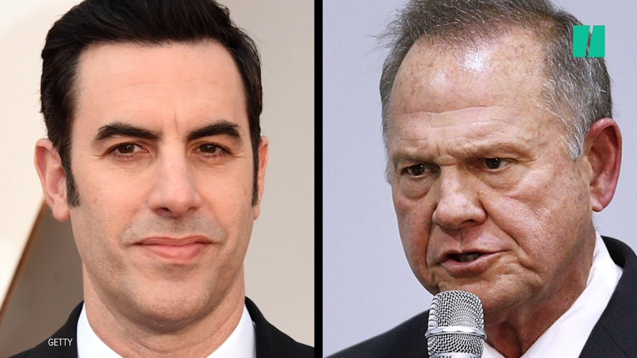 Sacha Baron Cohen Interviews Roy Moore With 'Pedophile Detector'