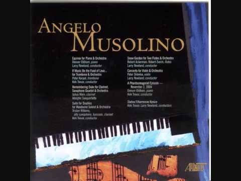 ANGELO MUSOLINO: Two Works for Solo Instruments & Orchestra