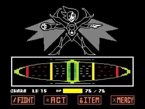 Undertale Genocide Playthrough - Pt 4: Goodbye Mettaton [No Commentary]