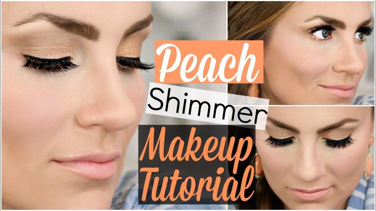 Peach shimmer makeup tutorial lorac unzipped gold palette youtube peach shimmer makeup tutorial lorac unzipped gold palette baditri Images