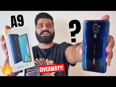 Oppo A9 2020 Unboxing & First Look - The Battery Monster | Giveaway 🔥🔥🔥