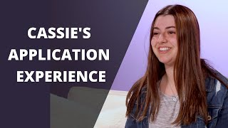 Cassie's Application Experience | James River College