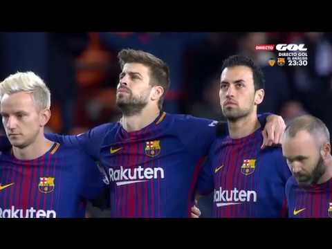 Valencia vs. Barcelona (08/02/2018) COPA DEL REY - HD Full Match