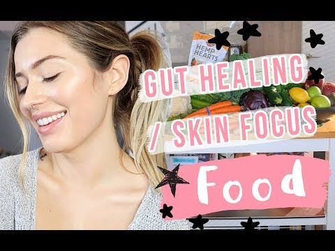 🥕🥦 WHAT I EAT (HEALTHY GROCERY HAUL)  & Approving BRAND SAMPLES