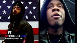 Nipsey Hussle Affiliate Goes Off On Reporters Saying His Death Was Gang Related..DA PRODUCT DVD