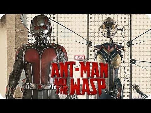Marvels ANT MAN 2 Movie Preview (2018) Ant-Man and the Wasp
