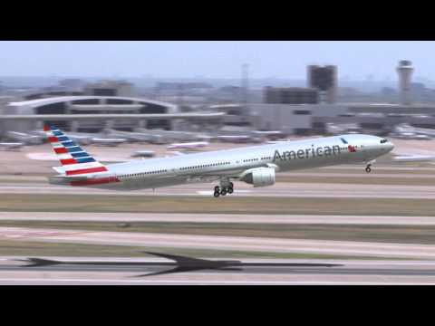 American Airlines new livery on the 777-300ER