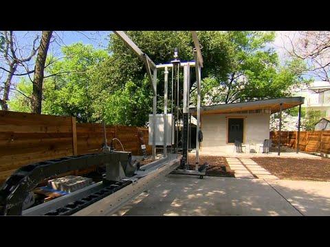 The Vulcan - 3D mobile printer for El Salvador's housing needs