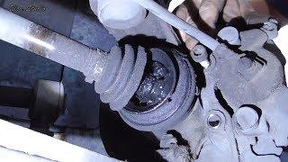 Замена наружной гранаты Opel Vectra