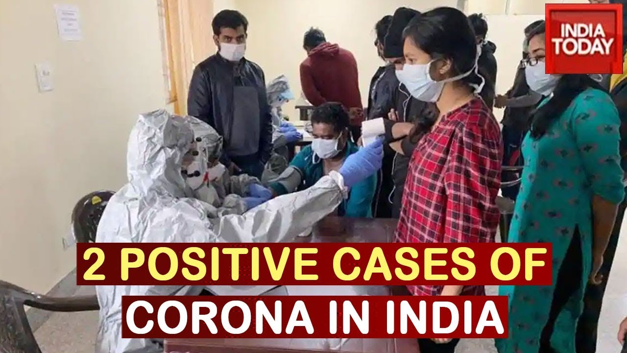 Two Positive Coronavirus Case In India, Travelled From Italy & Dubai