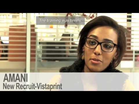 Business Success & Youth Employment in Tunisia - Vistaprint & Education For Employment Tunisia