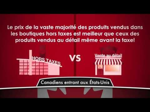 Duty Free Canada: Canadian Customs Allowances (En Français) - EXTENDED VERSION