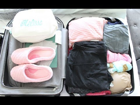 Whats In My Hospital Bag | Oh Baby Thursday