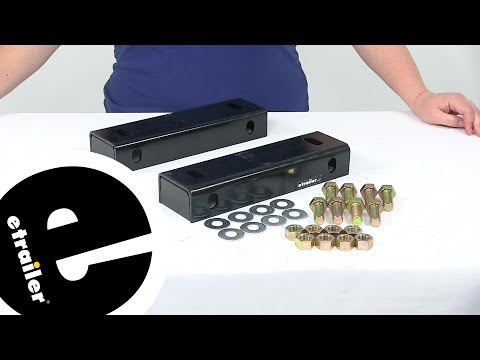Etrailer | Review Of Lippert Components Trailer Axles - Axle Riser - LC270682