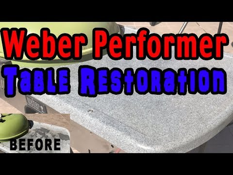 How to Clean and Restore your Weber Performer Table