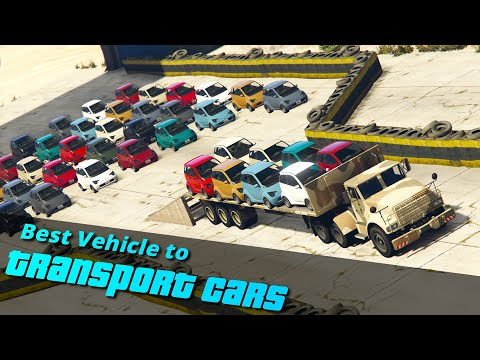 GTA V Which Is The Best Vehicle To Transport Cars   Truck, Plane Or Helicopter