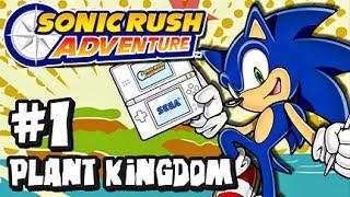 Sonic Rush Adventure (1080p) - Part 1 - Plant Kingdom