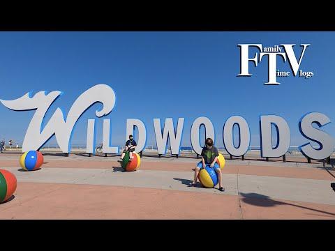 Wildwood Summer 2020 MDW Makeup Wildwood NJ Vlog Pt 1