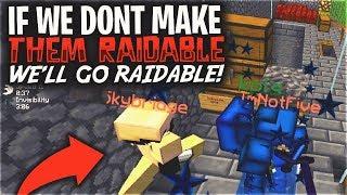 IF WE DONT MAKE THEM RAIDABLE, WE WILL GO RAIDABLE...   Minecraft HCF