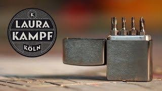 Custom Zippo Bit Safe (Every Day Carry for Makers)