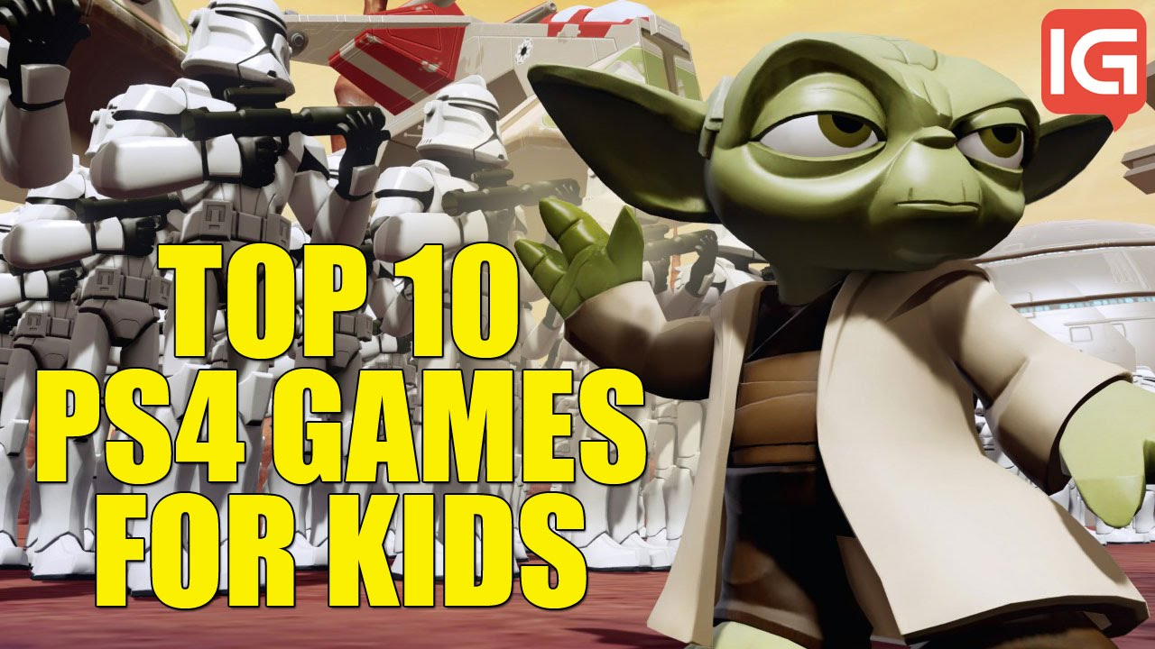 Top 10 Ps4 Games For Kids Youtube