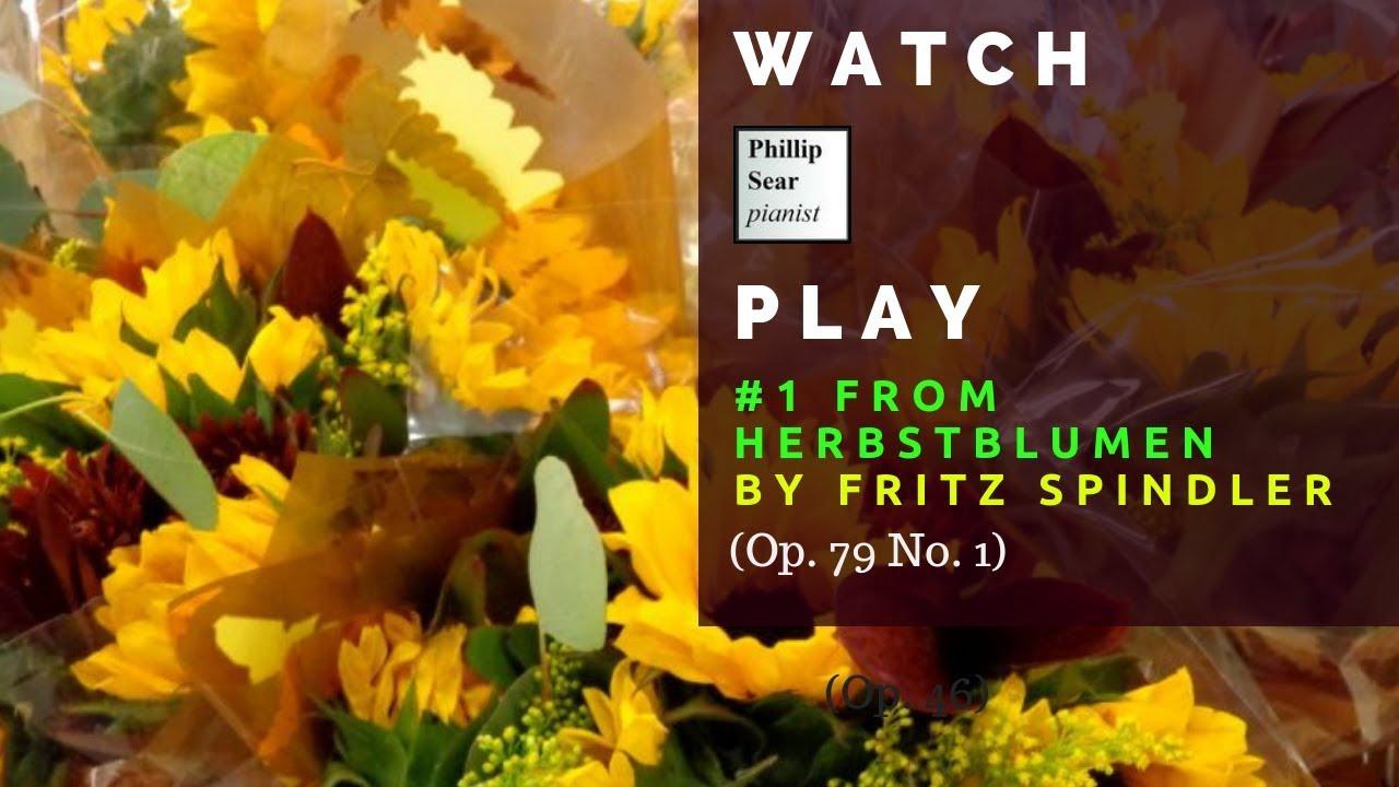 Entzückend Herbstblumen Das Beste Von Fritz Spindler #1 From 2 Idylles Op