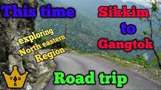 Roadtrip !! Sikkim to Gangtok !! Adventure drive in Rain @ hellstone..