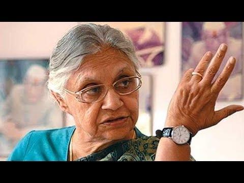 Sheila Dikshit to contest from North East Delhi against BJP Leader Manoj Tiwari