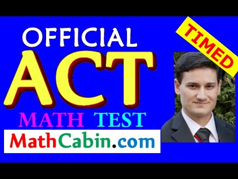 Most Powerful ACT Math Strategies for 2017 (Official ACT Math Practice Test) ACT Prep