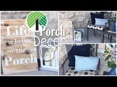 Dollar Tree DIY Porch Decor